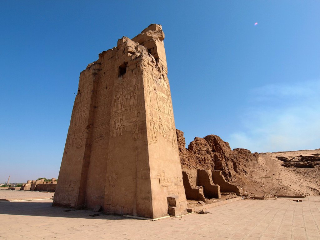 Stock Photo: 1566-1079797 Kom Ombo Temple. High Egypt.
