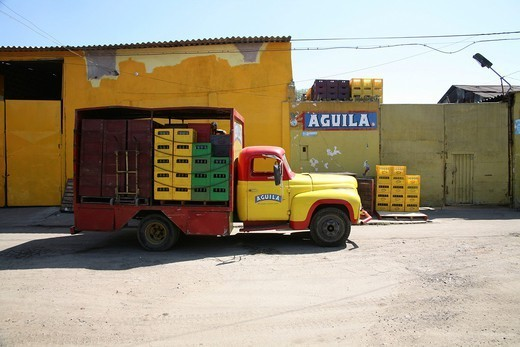 Aquila beer is one of Colombians leading beer companies : Stock Photo