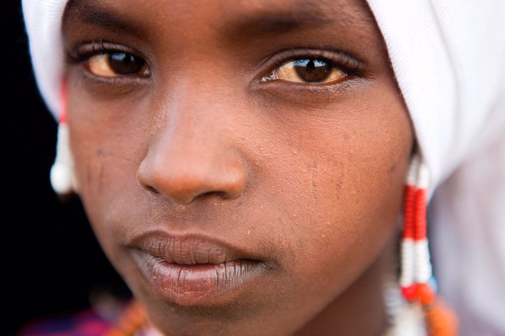 Stock Photo: 1566-1081740 Portrait of a villager in Awash, Afar region in Ethiopia