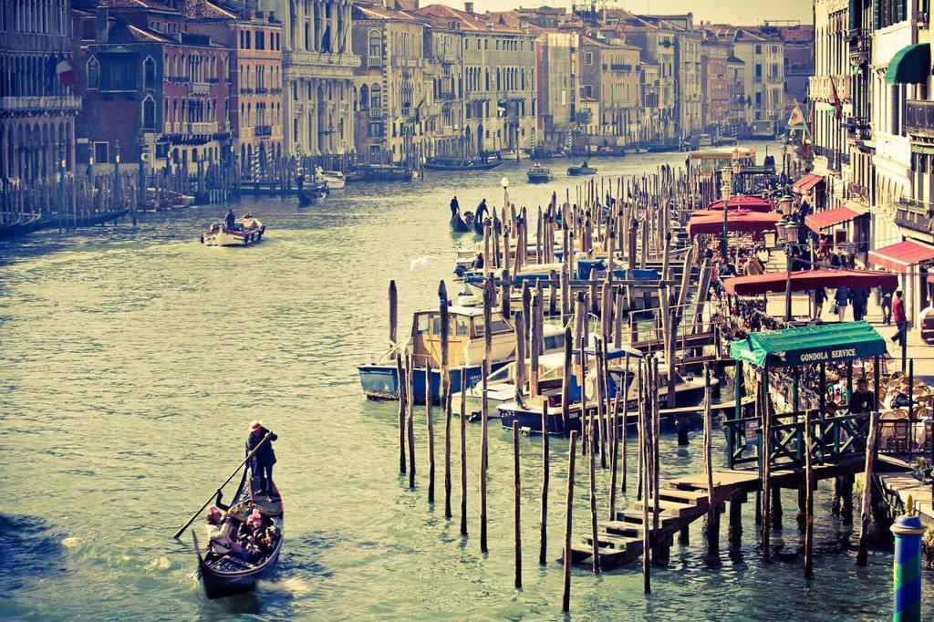 Stock Photo: 1566-1081762 Grand Canal  Venice, Italy