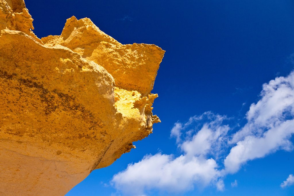 Stock Photo: 1566-1081960 Sandstone, Qbajjar Village, Gozo Island, Malta, Europe