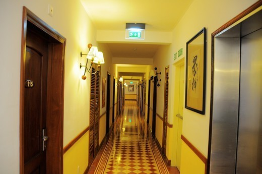 Stock Photo: 1566-1082709 Vietnam, Can Tho province, Mekong Delta, Can Tho Hotel Victoria.