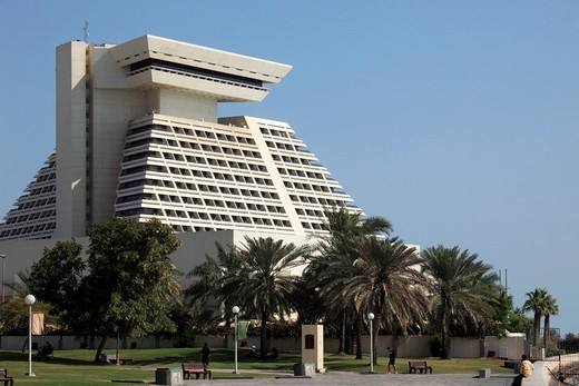Qatar, Doha, Sheraton Hotel. : Stock Photo