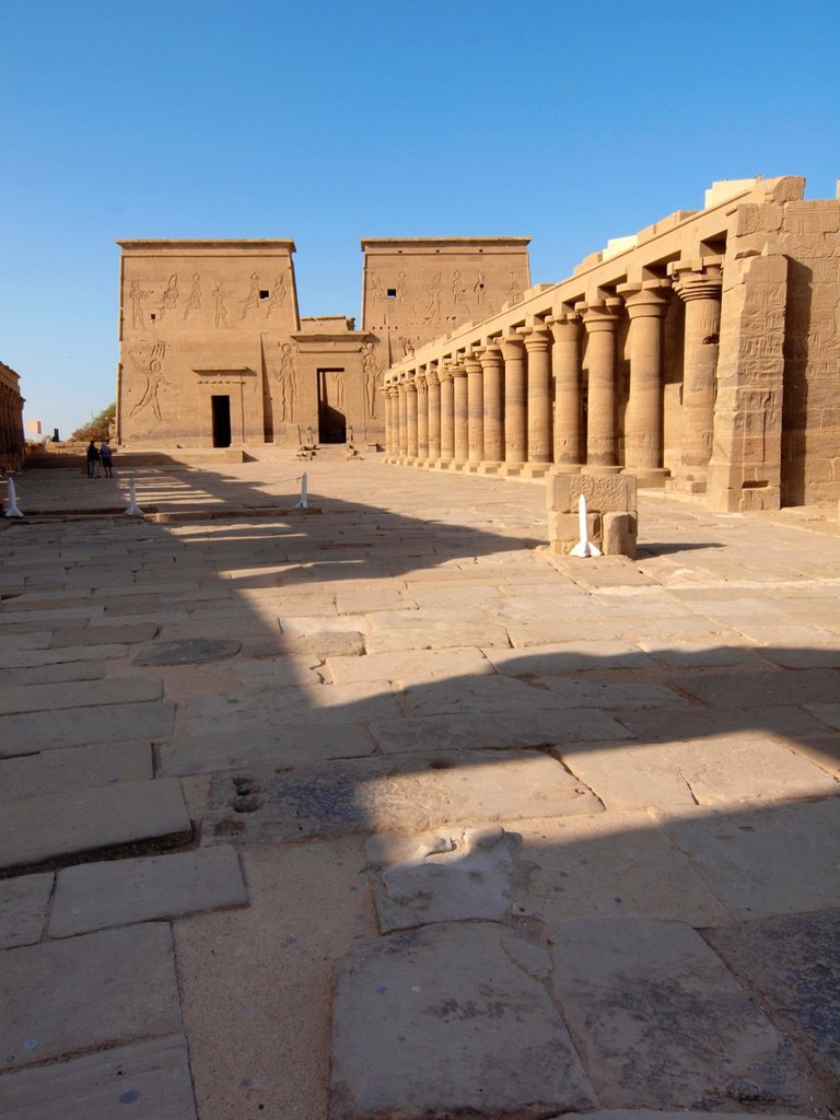 Stock Photo: 1566-1083734 Philae, Isis Temple, Aswan, Upper Egypt