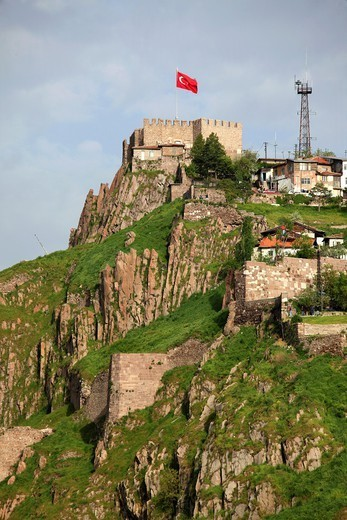 Stock Photo: 1566-1084015 Turkey, Ankara, Citadel.