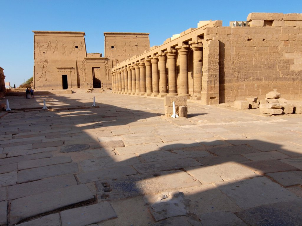 Stock Photo: 1566-1084048 Philae, Isis Temple, Aswan, Upper Egypt