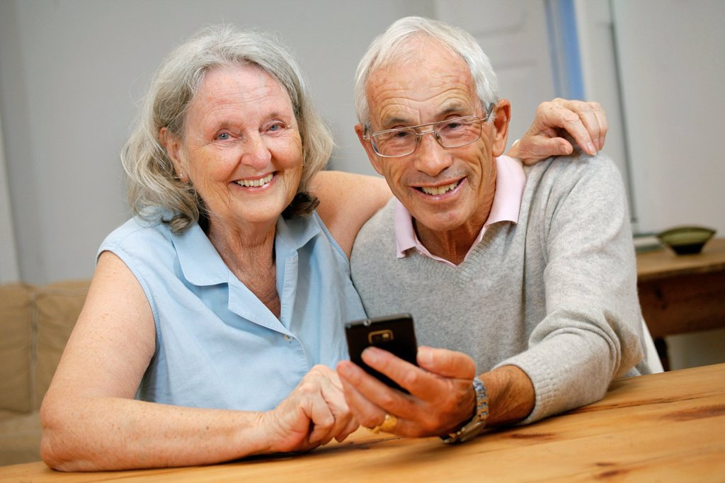 Stock Photo: 1566-1084497 Senior couple