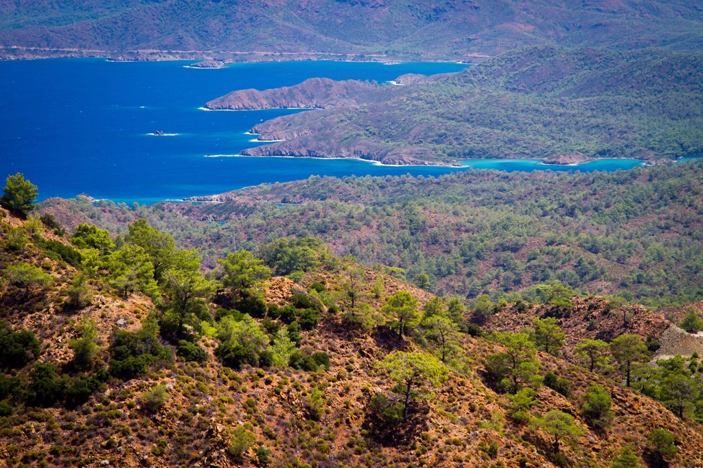 Stock Photo: 1566-1086614 Datca peninsula, Mugla province, Anatolia, Turkey