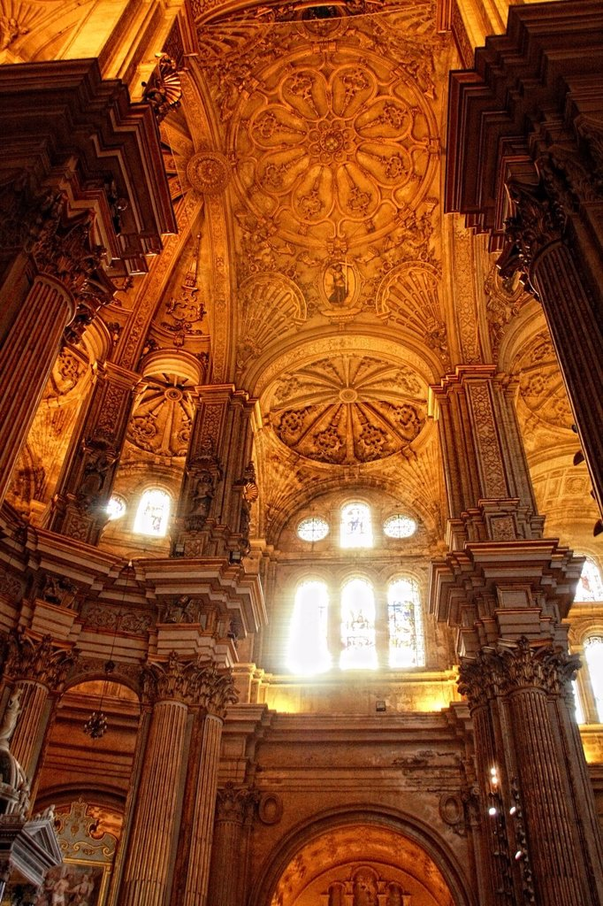 Stock Photo: 1566-1088184 Cathedral of the Incarnation, Malaga, Costa del Sol, Andalucia, Spain, Europe, aged, ancien, ancient, Andalusian, Andaluz, Andaluza, Arcade, Arch, Architecture, Art, Attraction, Building, Calm, Capital, Christian, Christian Art, Christianity, Church, City. Cathedral of the Incarnation, Malaga, Costa del Sol, Andalucia, Spain, Europe, aged, ancien, ancient, Andalusian, Andaluz, Andaluza, Arcade, Arch, Architecture, Art, Attraction, Building, Calm, Capital, Christian, Christian Art, Christianity,