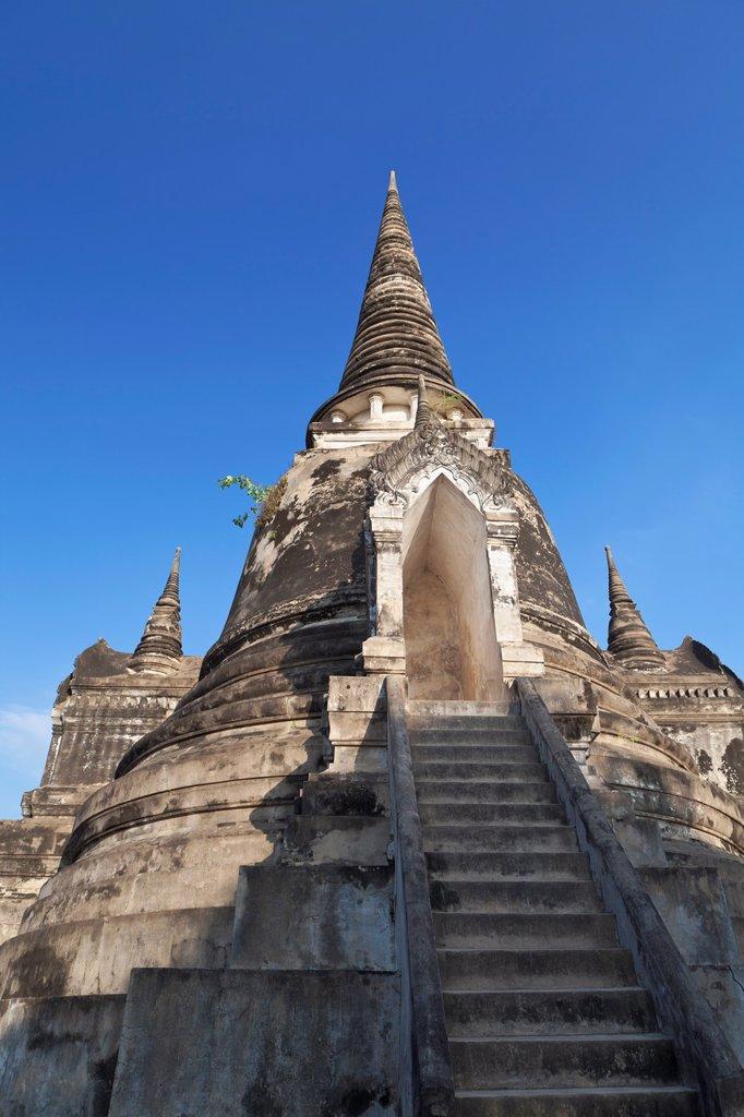 Wat Phra Si Sanphet, Ayutthaya, Thailand : Stock Photo