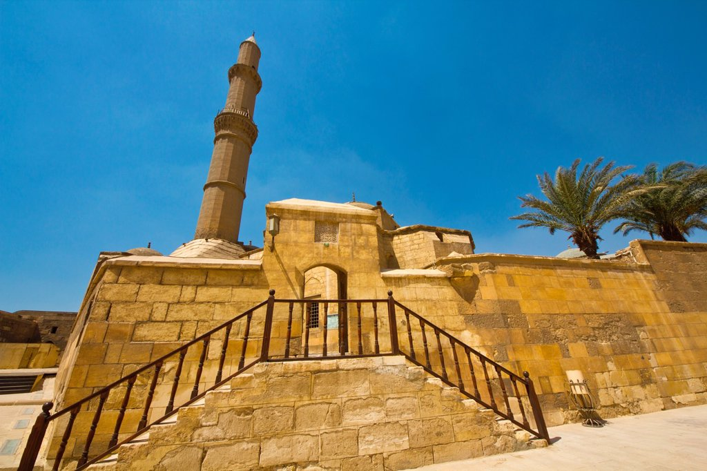 Stock Photo: 1566-1093135 Soliman Pasha Mosque, Citadel, City of Cairo, Egypt