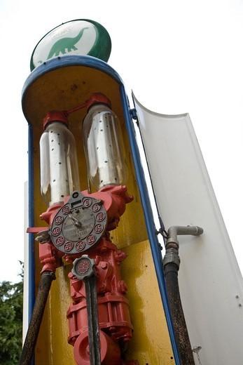 Stock Photo: 1566-1094011 Petrol pump