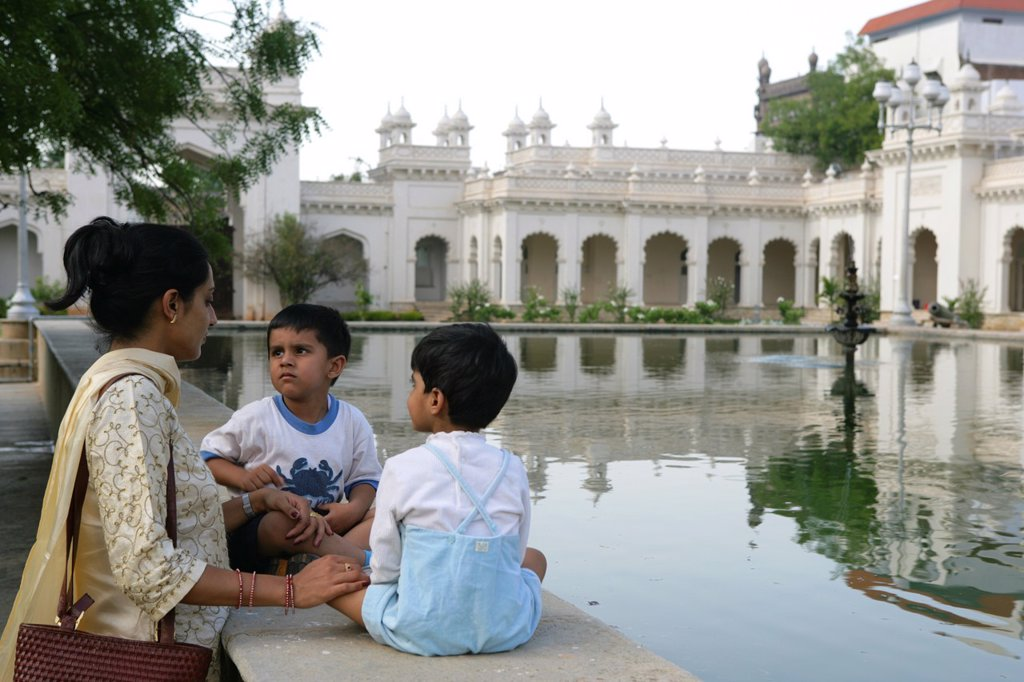 Chowmahalla Palace is held in high esteem by the people of Hyderabad, as it was the seat of the Asaf Jahi dynasty  Nizam family ruled Hyderabad for around 300 years from the 1700´s and were famous for their wealth, diamonds, gems, and art and architecture. Chowmahalla Palace is held in high esteem by the people of Hyderabad, as it was the seat of the Asaf Jahi dynasty  Nizam family ruled Hyderabad for around 300 years from the 1700´s and were famous for their wealth, diamonds, gems, and art and  : Stock Photo