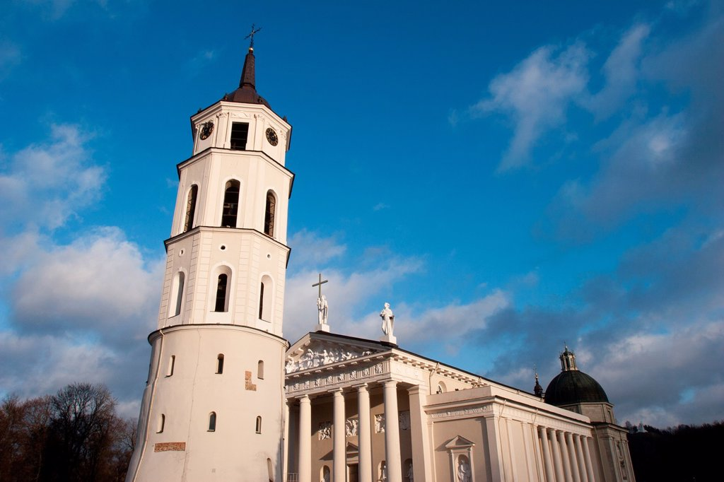 Cathedral, Vilnius, Lithuania : Stock Photo
