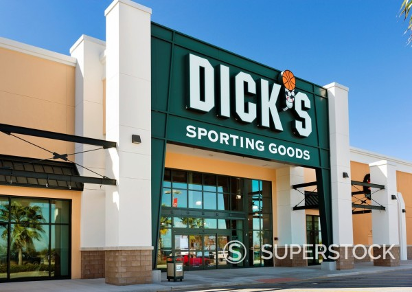 Stock Photo: 1566-1098078 Dick´s Sporting Goods store at Posner Park retail development, Davenport, Central Florida, USA