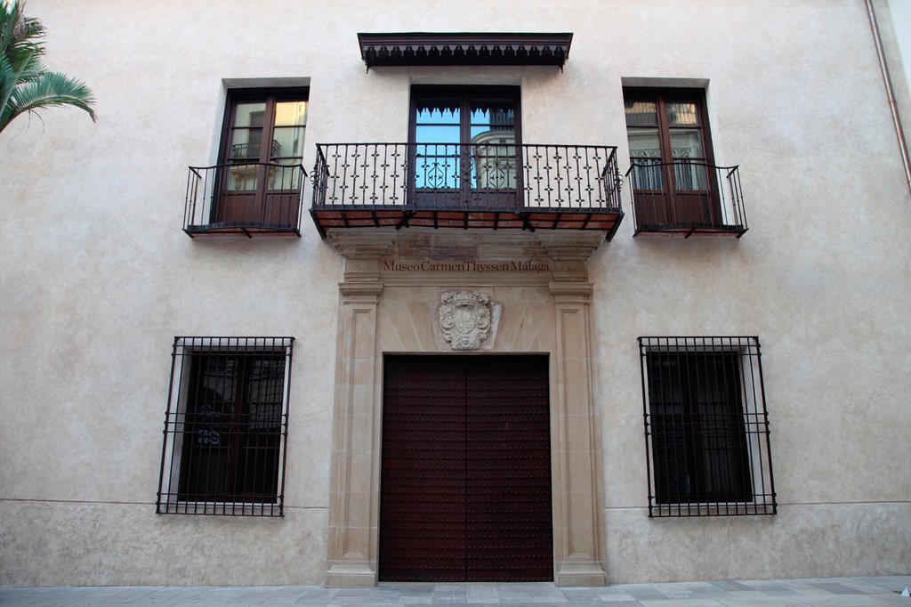 Stock Photo: 1566-1098952 Museo Carmen Thyssen, Malaga, Andalusia, Spain