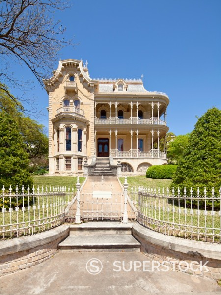 Stock Photo: 1566-1099703 John Bremond House, Austin, TX