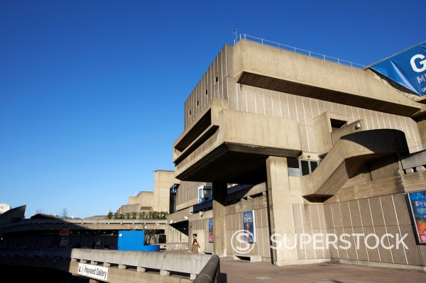 Stock Photo: 1566-1101303 the hayward gallery at the southbank centre London England UK United kingdom