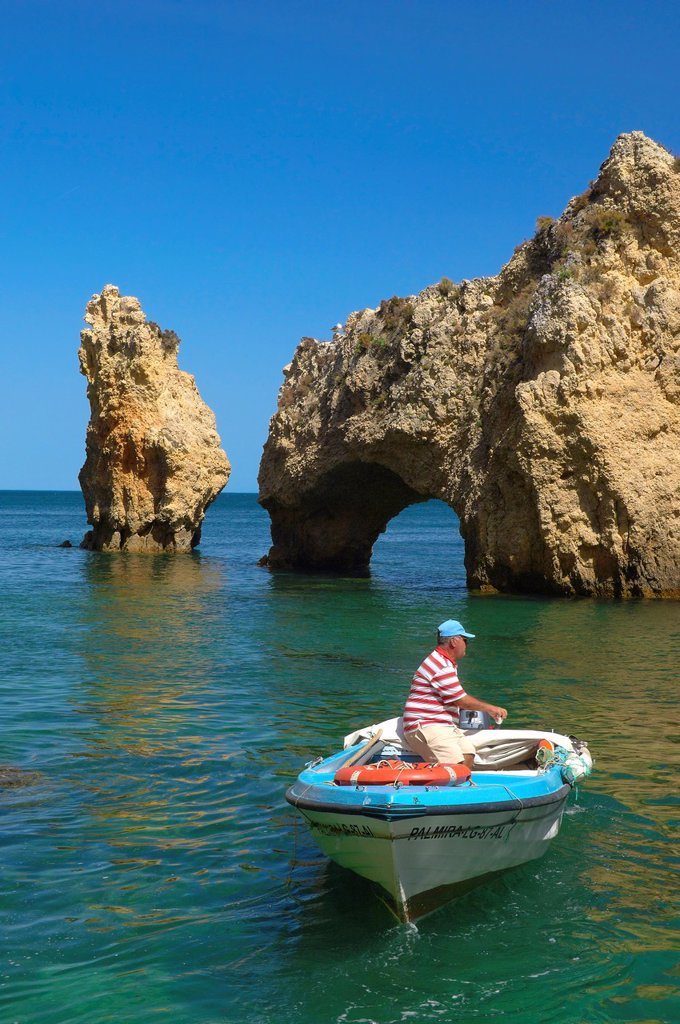 Stock Photo: 1566-1104347 Ponta da Piedade, Lagos, Algarve, Portugal, Europe