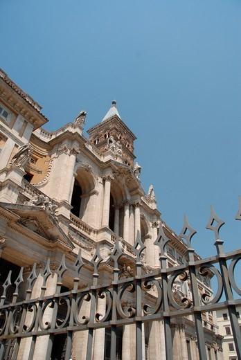 Basilica Papale di Santa Maria Maggiore, Rome, Lazio, Italy, Europe : Stock Photo