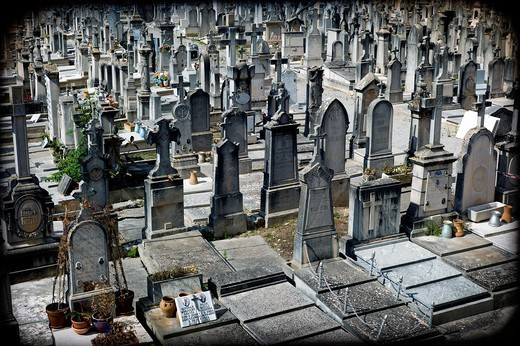 Cemetery, Palma de Mallorca, Balearics, Spain : Stock Photo