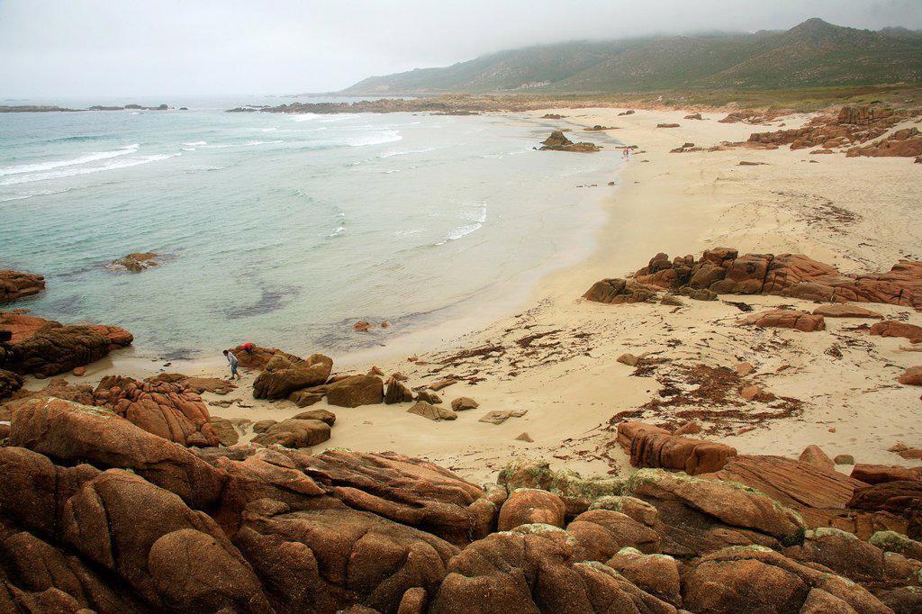 Stock Photo: 1566-1106273 landscape at Cape Vilán in Camariñas  Coruña