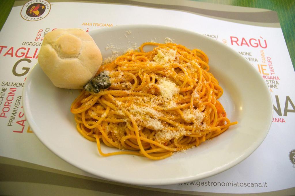 Spaghetti al Ragu pasta dish Verona the Veneto region northern Italy Europe : Stock Photo