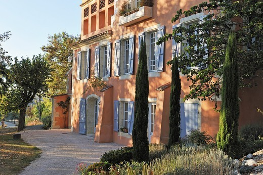 Charming private castle Les Charmettes, Auch, Gers department, Midi-Pyrenees, southwest of France, Europe : Stock Photo