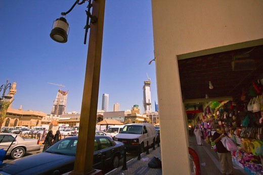 Kuwait,City of Kuwait, local market, old souq : Stock Photo