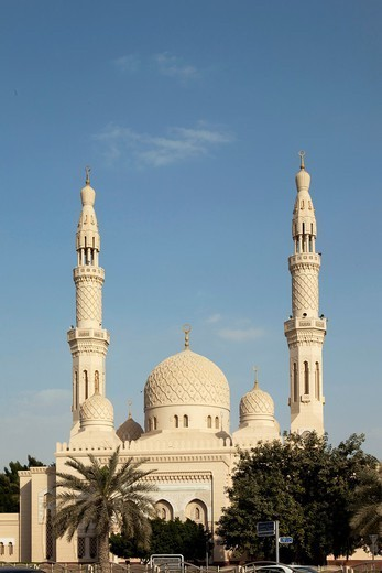 Jumeirah Mosque, Dubai, United Arab Emirates : Stock Photo