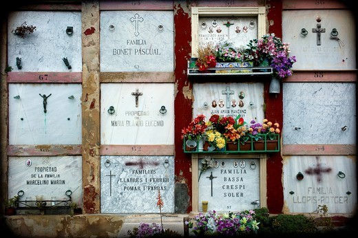 Cementerio, Palma de Mallorca, : Stock Photo