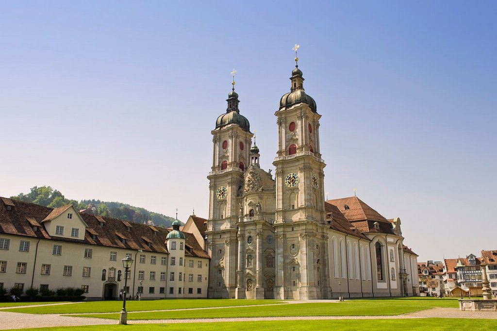 Stock Photo: 1566-1120892 Switzerland, St  Gallen, Abbey of St  Gallen