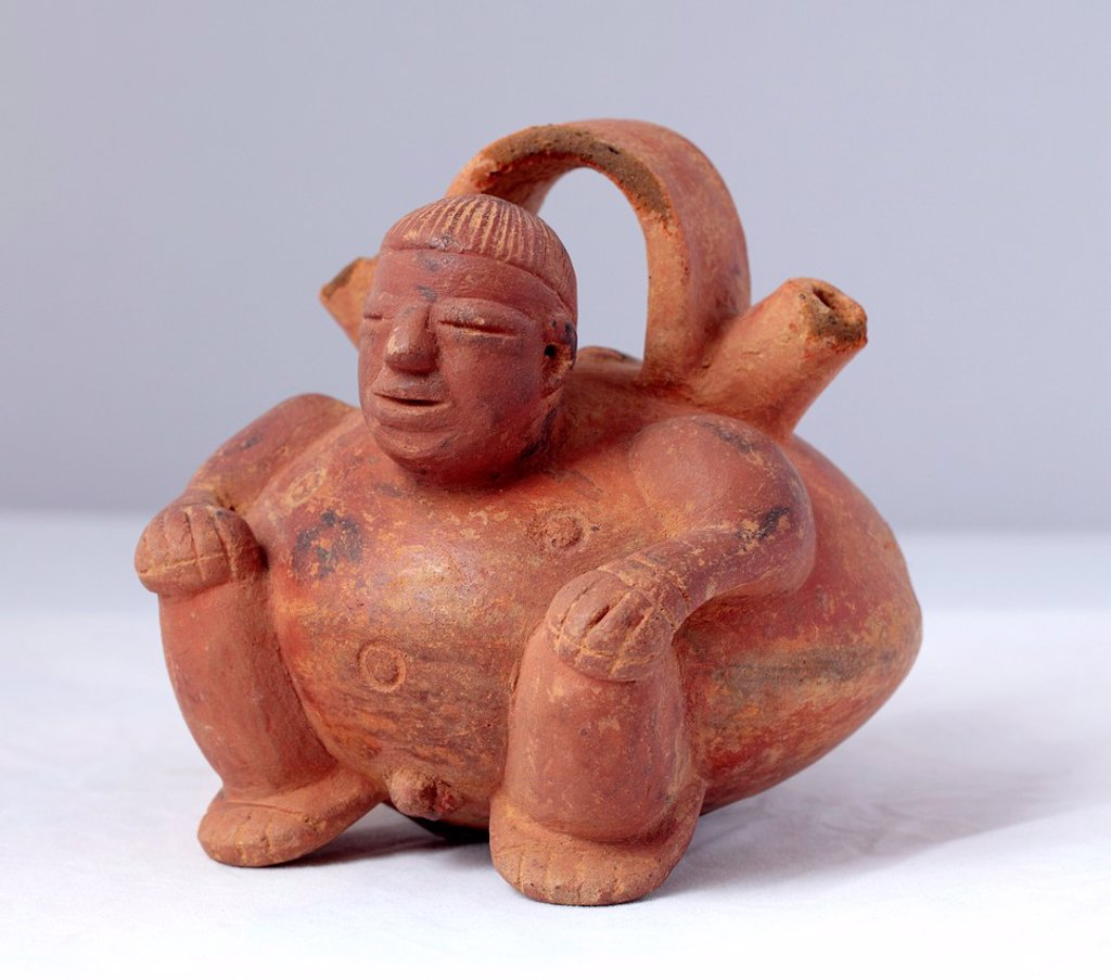 Stock Photo: 1566-1121610 Pre-columbian art 10th century BC, Sinu, Peru