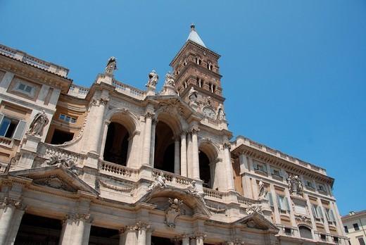 Stock Photo: 1566-1122851 Basilica Papale di Santa Maria Maggiore, Rome, Lazio, Italy, Europe