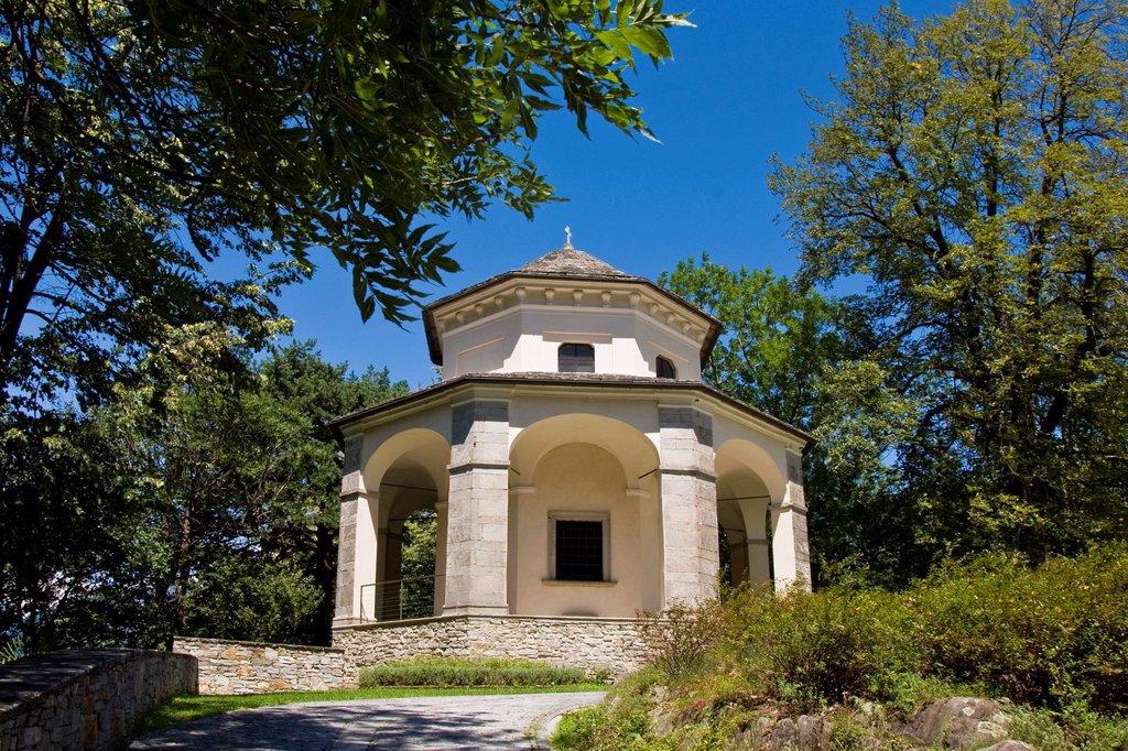 Stock Photo: 1566-1123522 Italy, Piedmont, Domodossola, Sacred Mount Calvary