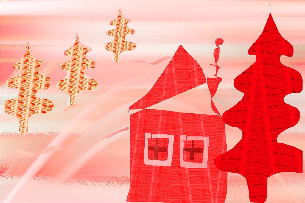 Stock Photo: 1566-1123569 christmas-illustration