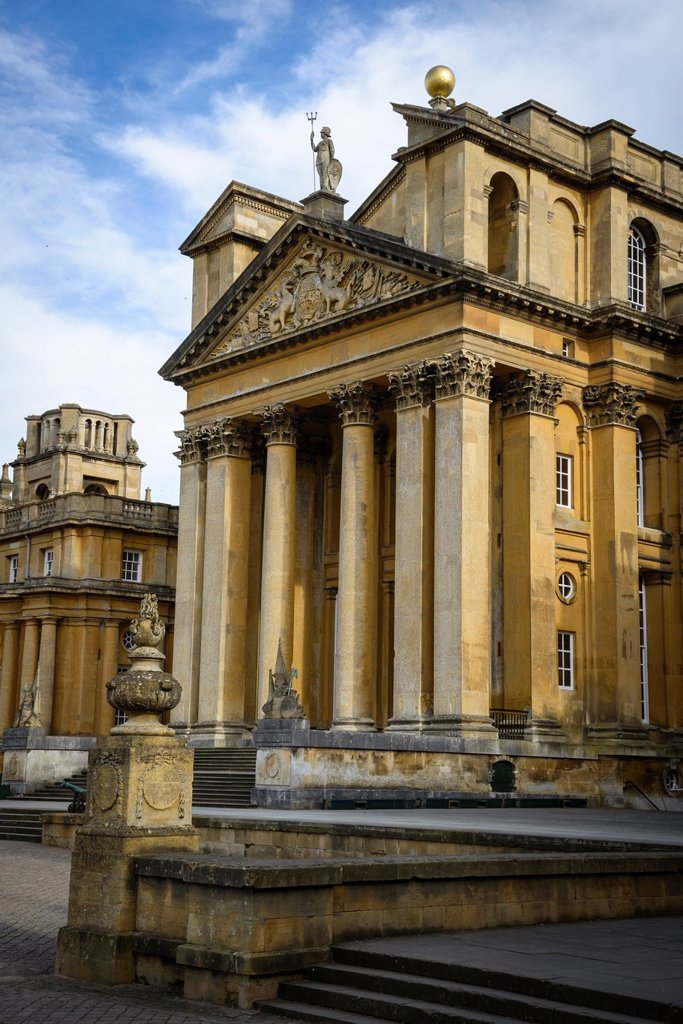 Stock Photo: 1566-1125529 Blenheim Palace, Woodstock, Oxfordshire, England, UK