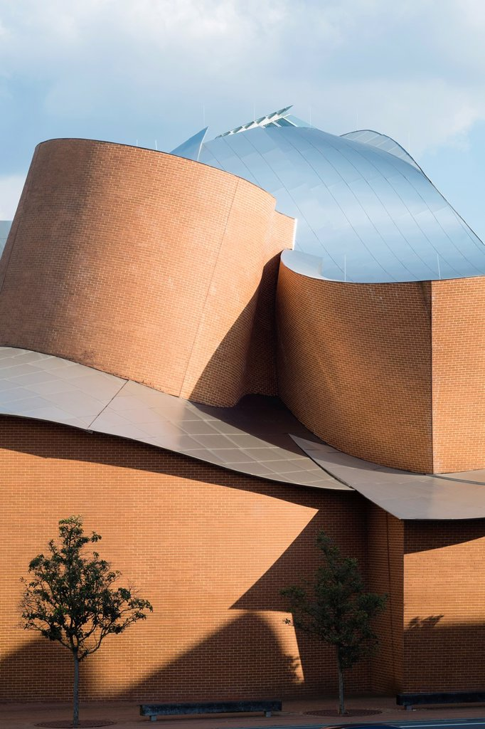 Stock Photo: 1566-1126627 MARTa Museum for contemporary art and design , Herford, North Rhine-Westphalia, Architect Frank Gehry