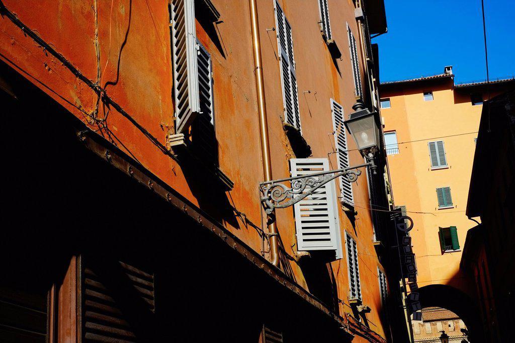 Italy, Emilia-Romagna, Bologna, via Clavature : Stock Photo