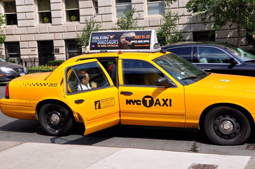 Stock Photo: 1566-1128572 New York City Taxi