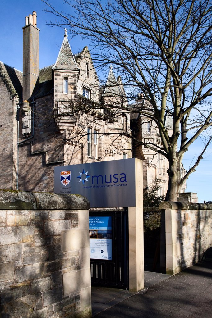 Stock Photo: 1566-1131275 Museum of the University of St Andrews St Andrews Fife Scotland