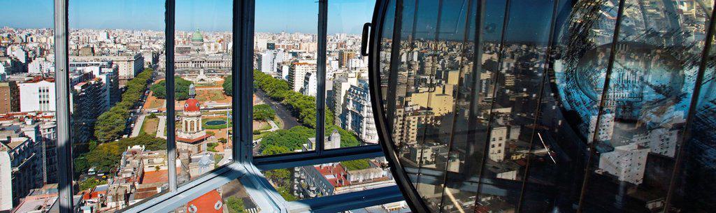 Stock Photo: 1566-1132245 Palacio Barolo, Mayo avenue, Buenos Aires, Argentina.