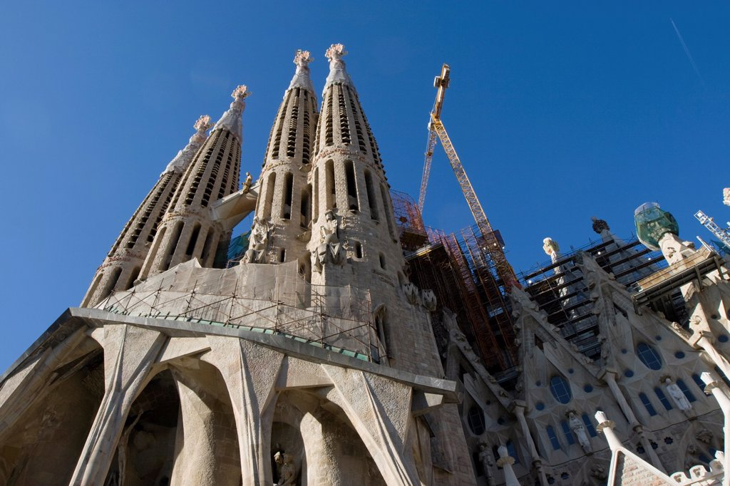 Stock Photo: 1566-1134626 Sagrada Familia, Barcelona