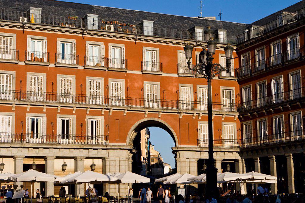 Madrid Plaza Mayor : Stock Photo