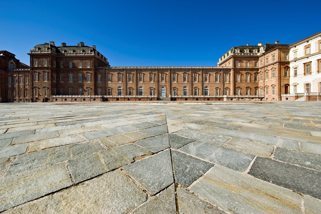 Stock Photo: 1566-1135029 Italy, Piedmont, Reggia di Venaria, Venaria Royal Palace, Galleria Grande