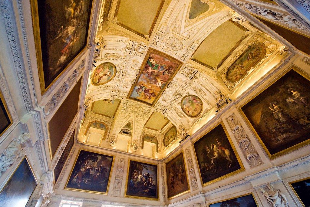 Stock Photo: 1566-1135074 Italy, Piedmont, Reggia di Venaria, Venaria Royal Palace, frescoes
