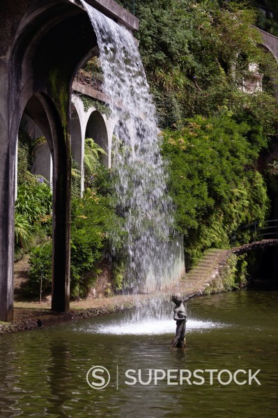 Stock Photo: 1566-1135192 Oriental garden in Jardim do Monte, Funchal, Madeira, Portugal