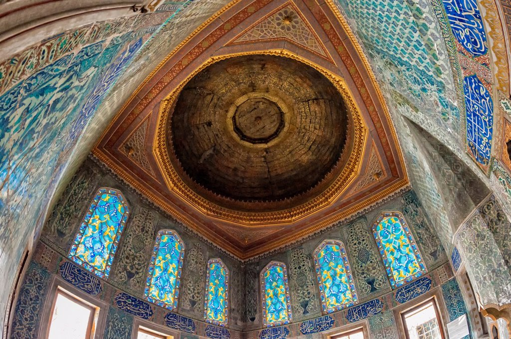 Stock Photo: 1566-1137055 Apartments of the Crown Prince, Topkapi Palace Harem, Istanbul, Turkey, Unesco World Heritage Site