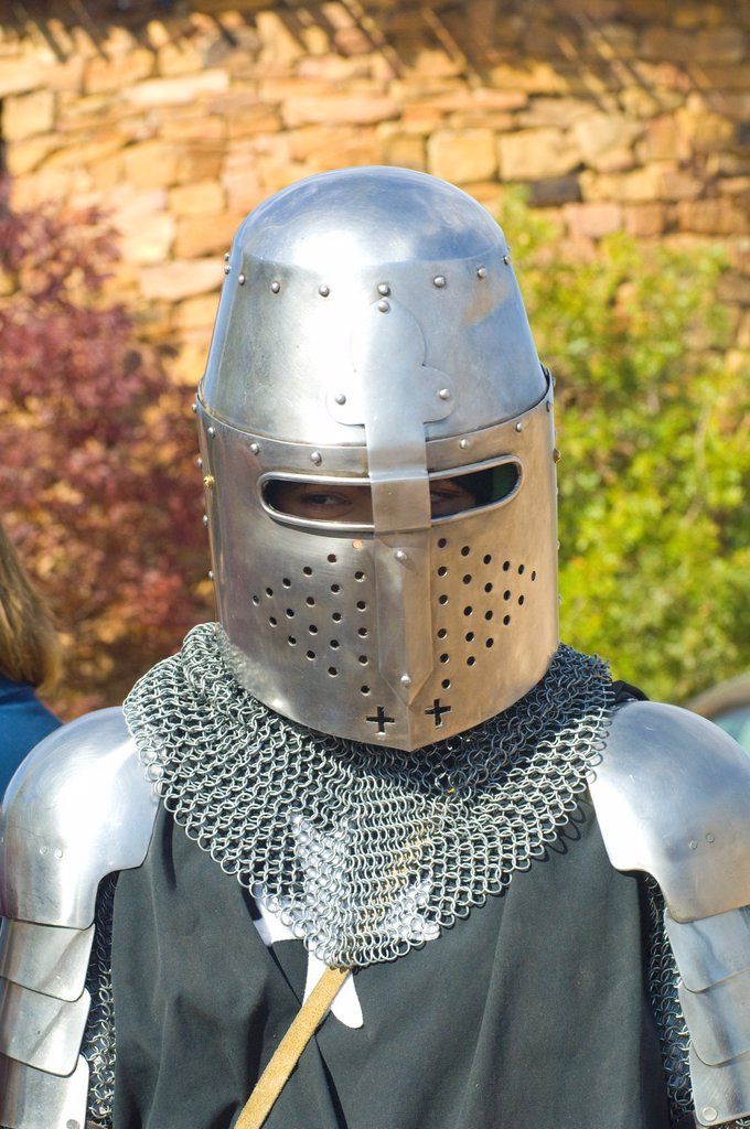 Armor, Santa Fe Renaissance Fair : Stock Photo