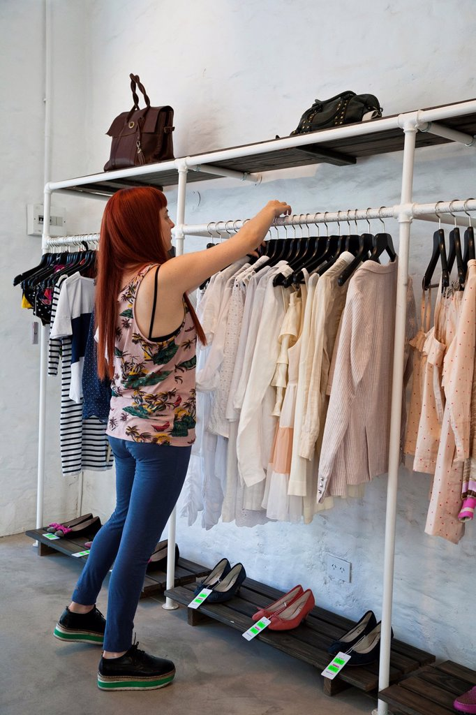 Stock Photo: 1566-1138957 The trendy ´Lupe´ fashion store in Palermo Soho also know as Palermo Viejo, Buenos Aires, Argentina